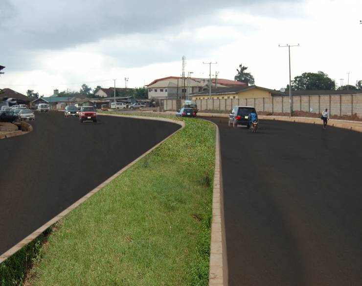 Newly Constructed Road at Ilo-Awela, Ota
