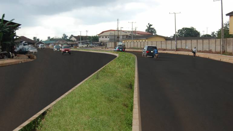 Newly Constructed Road at Ilo-Awela, Ota
